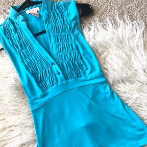 Candie's Blue Sleeveless Top